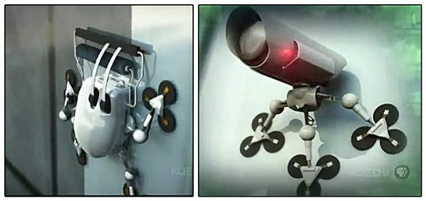 روبات مارمولکی و نانو تکنولوژی