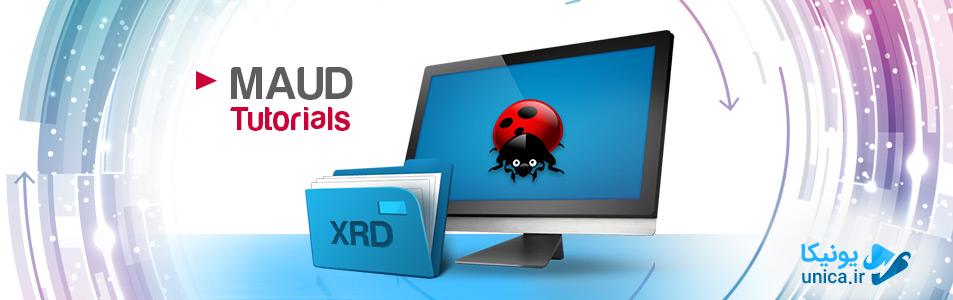 تفسیر نتایج xrd وارد کردن فایل به نرم افزار Maud